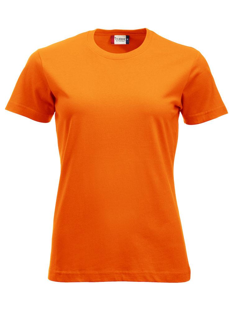 Classic T Ladies arancio alta visibilità