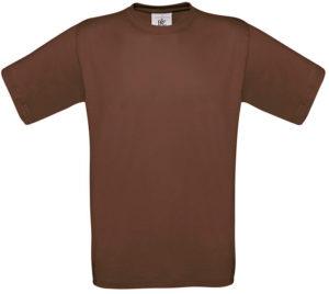 Maglietta marrone personalizzabile b&C